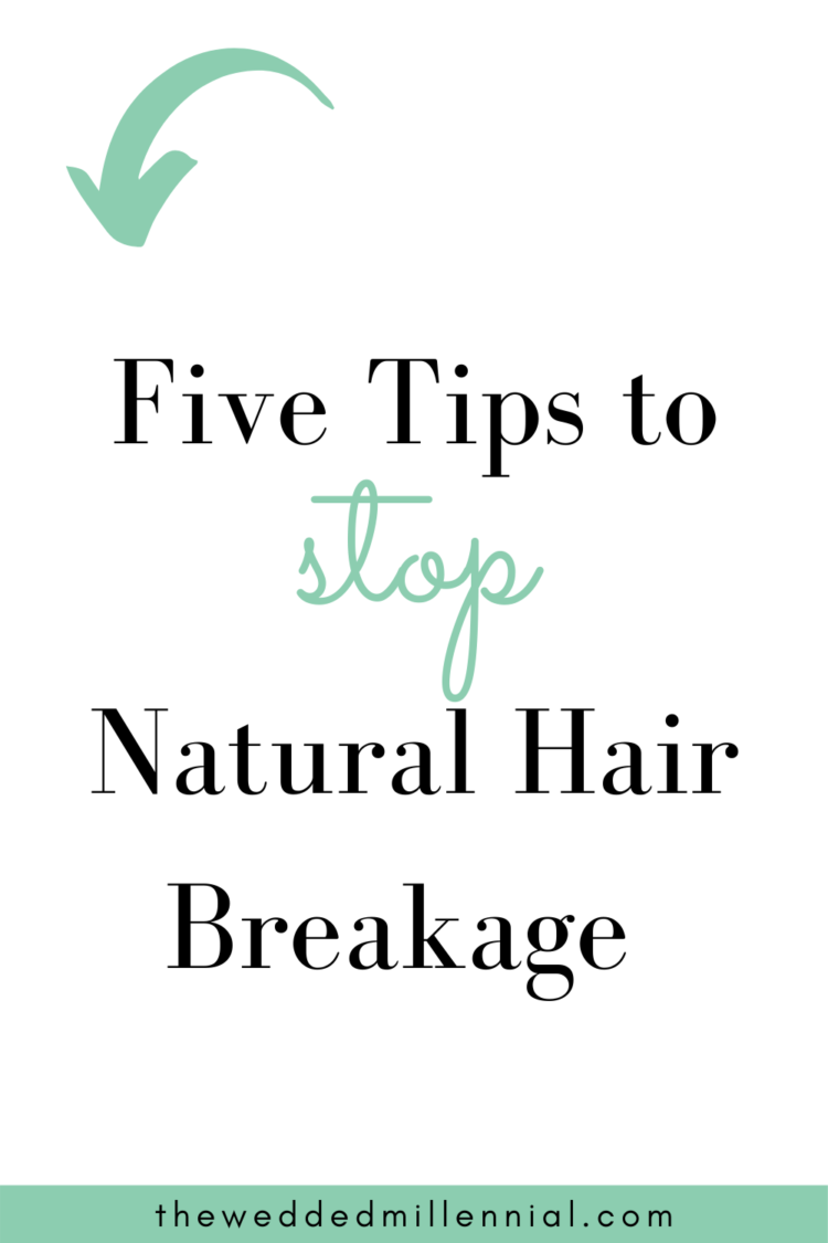 five tips to stop hair breakage