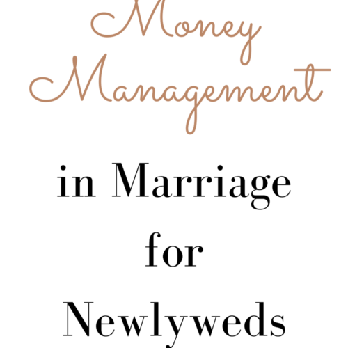 money management in marriage