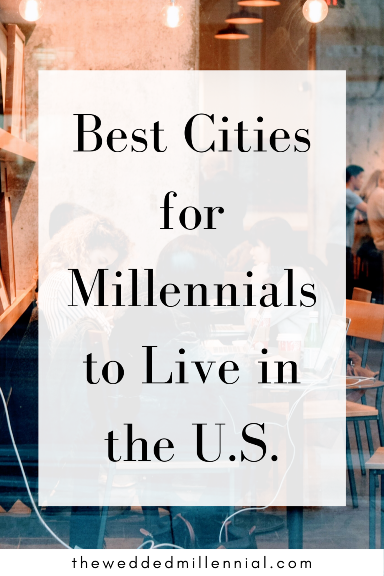 Best Cities for Millennials to Live in the U.S.